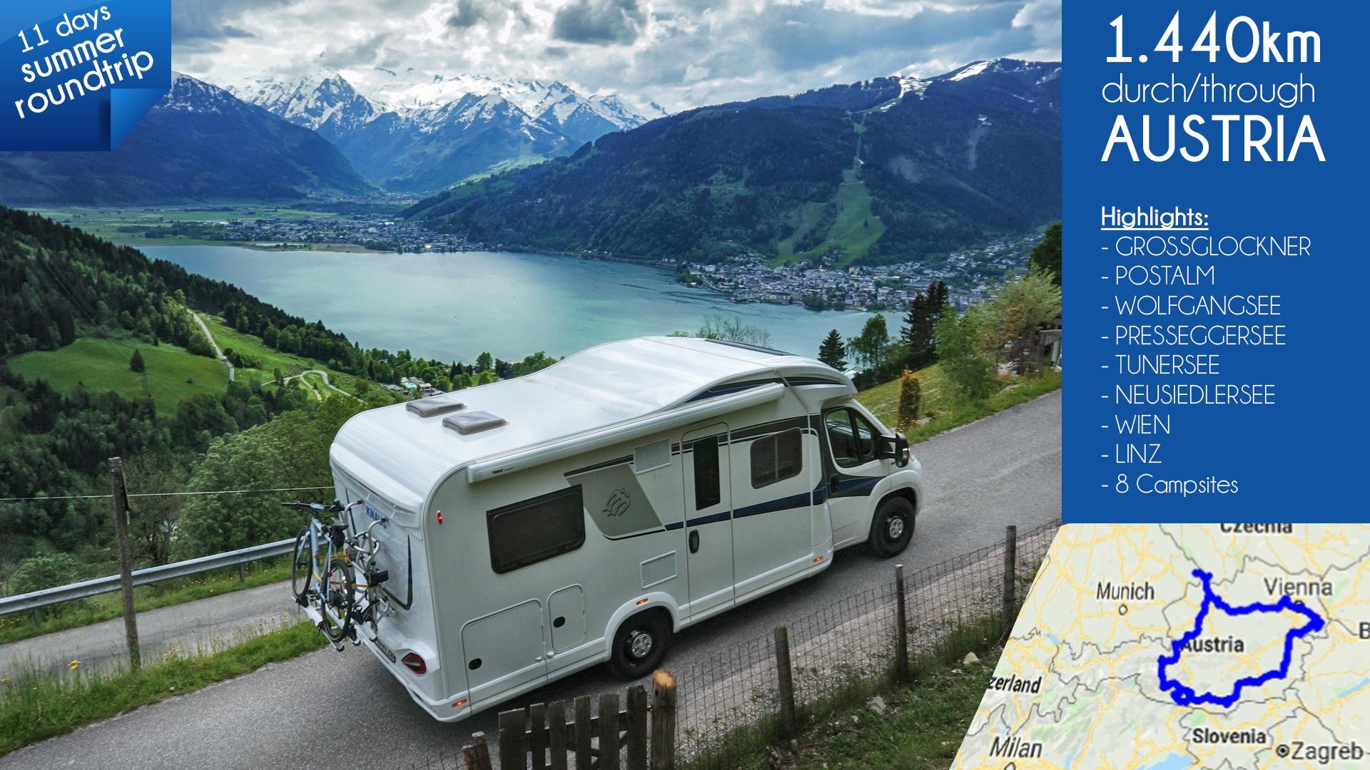 Knaus-Sky-Wave-Austria-Tour-Vlog Foto-Tour durch Österreich mit dem Wohnmobil / Videobericht - Storytelling